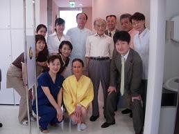 2007年9月 福岡にTaddei教授を招いて